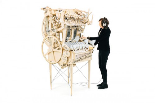 Wintergatan Martin and the Marble Machine